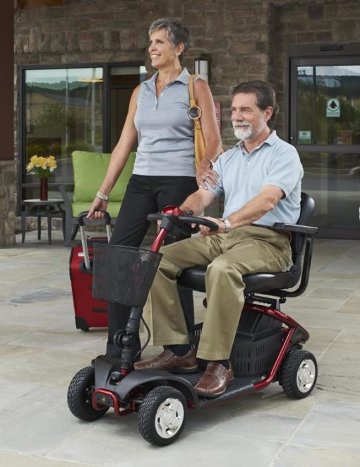 Mobility scooter zippy 4 riding
