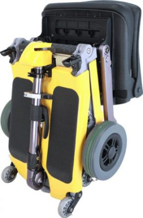 Luggie Travel Mobility Scooter – Sunny Blue, Nappi
