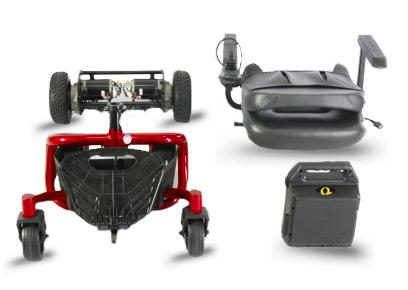 literider ptc power wheelchair