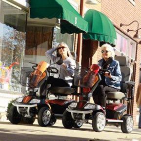 Igo Outrider heavy duty mobility scooter 600x600