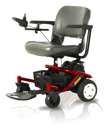 literider ptc powered electric wheelchair