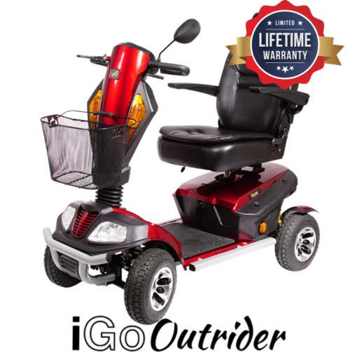 IGO Outrider mobility scooter